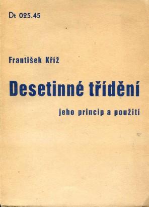 Kříž, František - Desetinné třídění