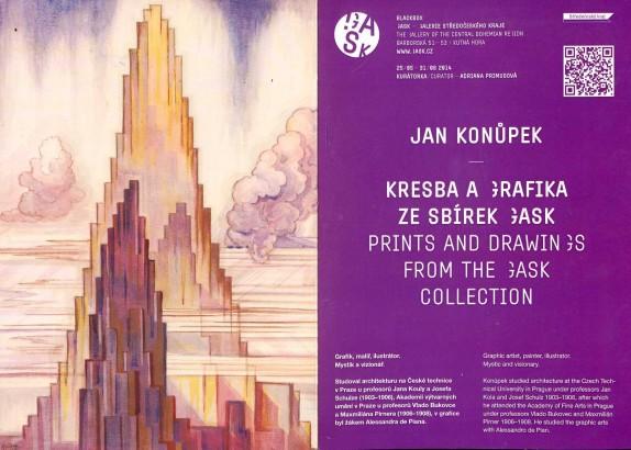 Jan Konůpek: Kresba a grafika ze sbírek GASK