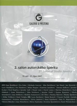 2. salon autorského šperku / 2nd Salon of Studio Jewelry