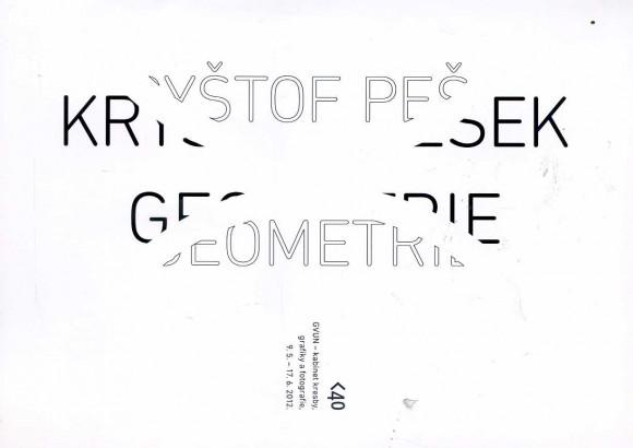 Kryštof Pešek: Geometrie