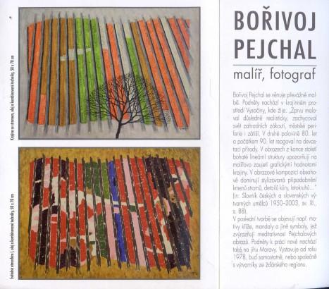 Bořivoj Pejchal: Malíř, fotograf
