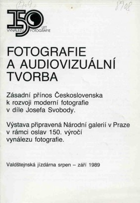 Fotografie a audiovizuální tvorba