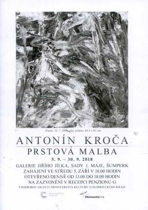 Antonín Kroča: Prstová malba