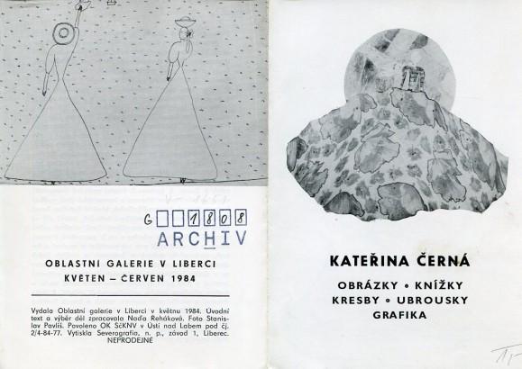 Kateřina Černá: Obrázky, knížky, kresby, ubrousky, grafika