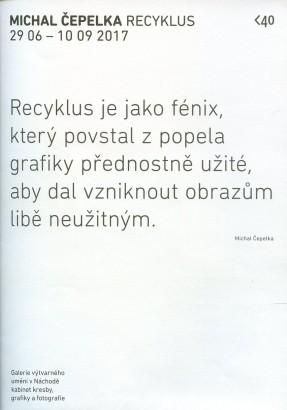 Michal Čepelka: Recyklus