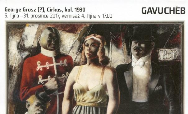 George Grosz (?): Cirkus, kol. 1930
