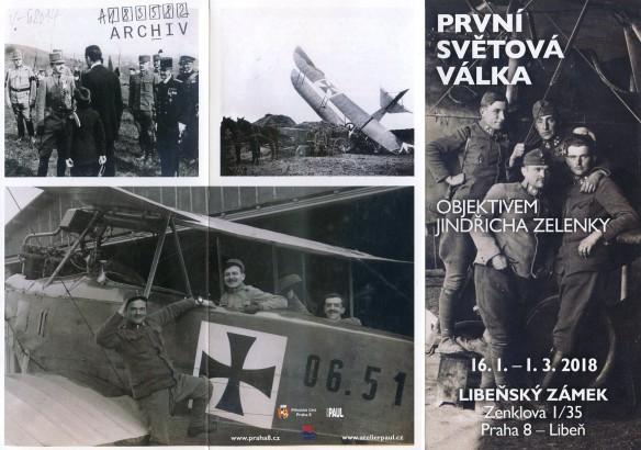 První světová válka objektivem Jindřicha Zelenky