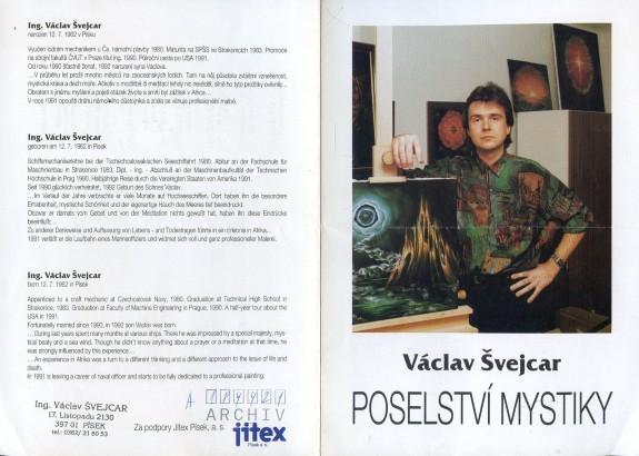 Václav Švejcar: Poselství mystiky