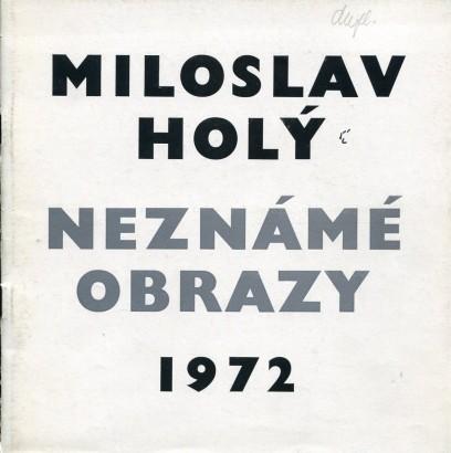 Miloslav Holý: Neznámé obrazy