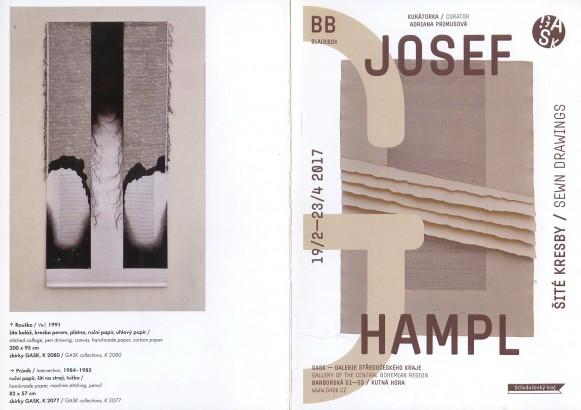 Josef Hampl: Šité kresby / Sewn Drawing