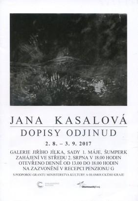 Jana Kasalová: Dopisy odjinud