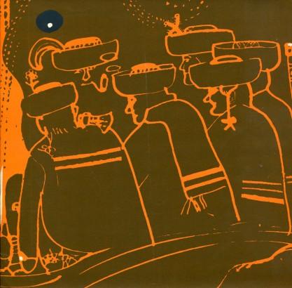 Antonín Strnadel: Ilustrace, kresby a dekorativní kompozice