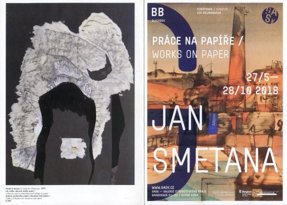 Jan Smetana: Práce na papíře / Works on Paper