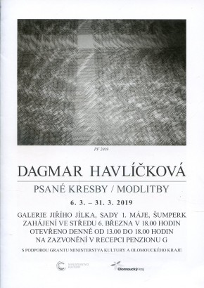 Dagmar Havlíčková: Psané kresby / modlitby