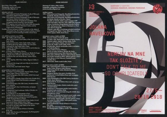 Jolana Havelková: Nemluv na mne tak složitě / Don't Talk To Me So Complicatedly