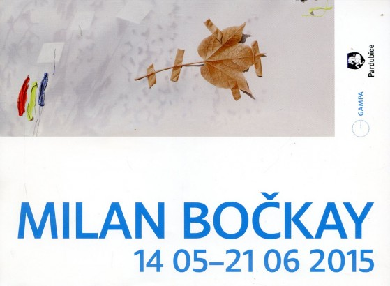 Milan Bočkay: Obraz na plátne, plátno na obraze