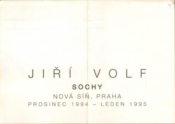 Jiří Volf: Sochy