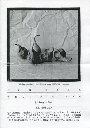 Jan Raba: Věci a místa