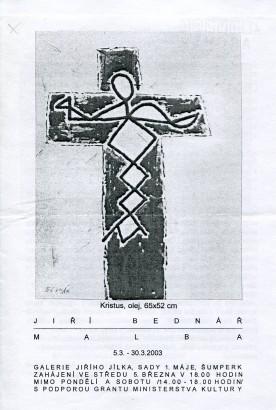 Jiří Bednář: Malba