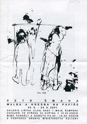 Petr Šmaha: Malba a kresba na papíře