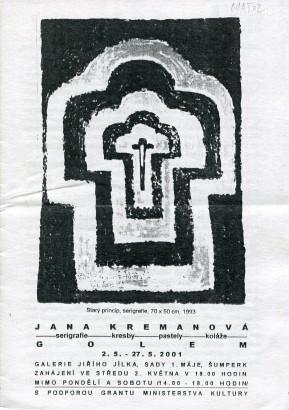 Jana Kremanová: Golem