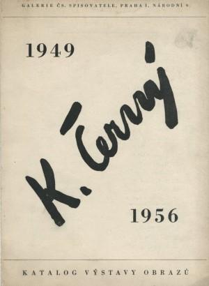 Karel Černý: 1949–1956