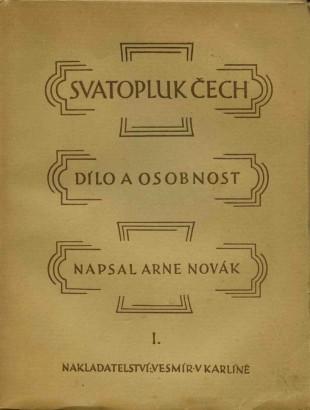Novák, Arne - Svatopluk Čech