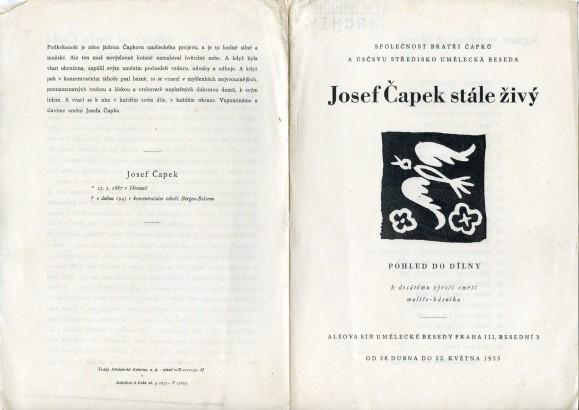 Josef Čapek stále živý