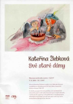 Kateřina Žlebková: Dvě staré dámy