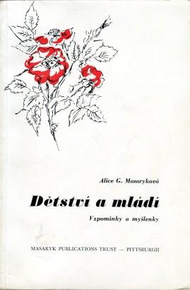 Masaryková, Alice - Dětství a mládí