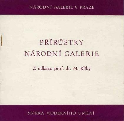 Přírůstky Národní galerie