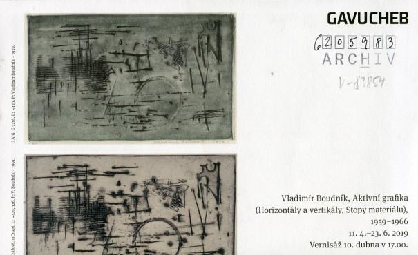 Vladimír Boudník: Aktivní grafika