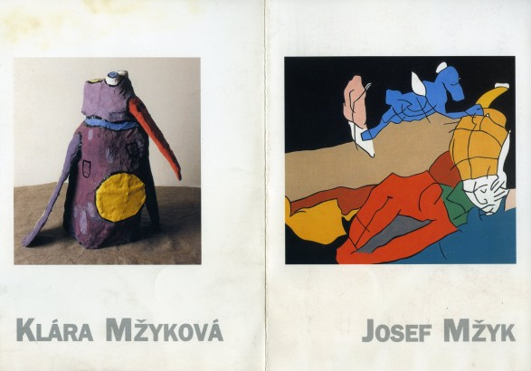 Josef Mžyk, Klára Mžyková