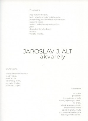 Jaroslav J. Alt: Akvarely