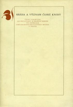 Krása a význam české knihy