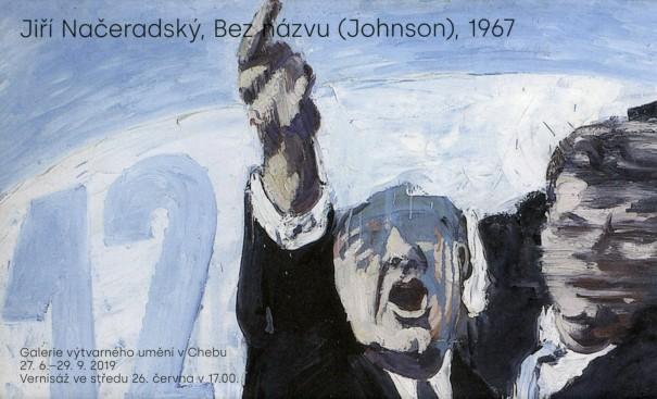 Jiří Načeradský: Bez názvu (Johnson), 1967