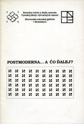 Postmoderna... a čo ďalej?