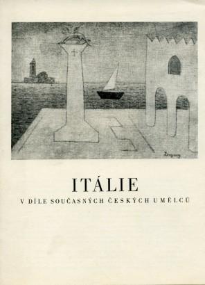 Itálie v díle současných českých umělců