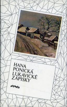 Ponická, Hana - Lukavické zápisky