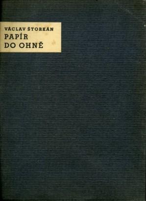 Štorkán, Václav - Papír do ohně