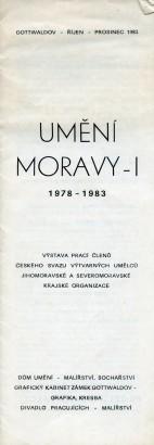 Umění Moravy - I
