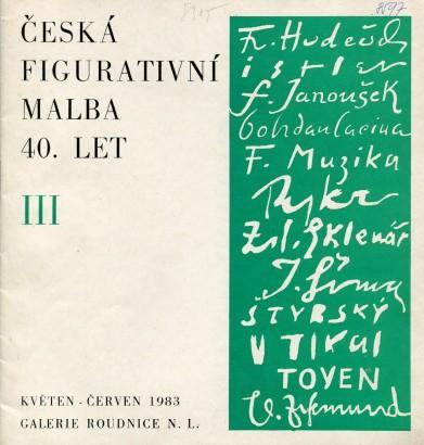 Česká figurativní malba 40. let