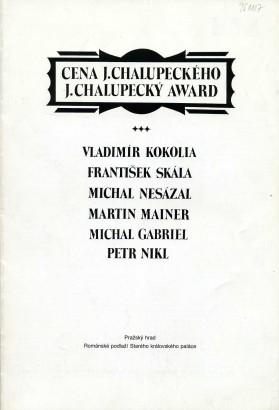 Cena J. Chalupeckého / J. Chalupecký Award
