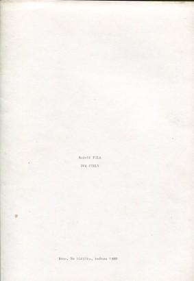 Rudolf Fila: Dva cykly