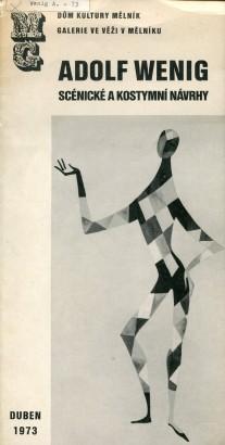 Adolf Wenig: Scénické a kostymní návrhy