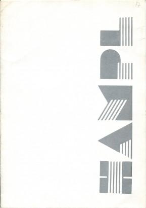 Hampl: Drawings Sewings 1982 - 1986