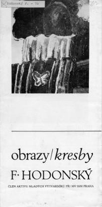 F. Hodonský: Obrazy / kresby