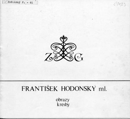 František Hodonský ml.: Obrazy a kresby