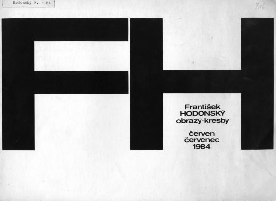 František Hodonský: Obrazy, kresby