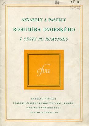 Bohumír Dvorský: Akvarely a pastely z cesta po Rumunsku